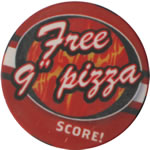 Good for one Pizza Token