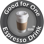 Good for One Espresso Token