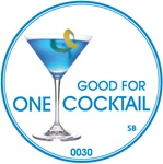 Good for One Cocktail Token